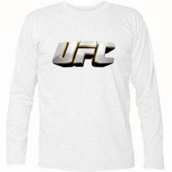 Футболка с длинным рукавом UFC 3D - FatLine