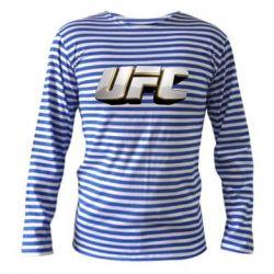 Тельняшка с длинным рукавом UFC 3D - FatLine