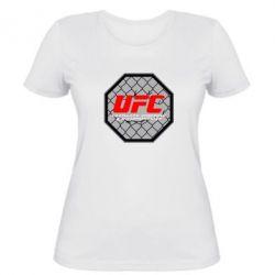 Женская футболка UFC Cage - FatLine