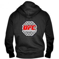 Мужская толстовка на молнии UFC Cage - FatLine