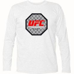 Футболка с длинным рукавом UFC Cage - FatLine