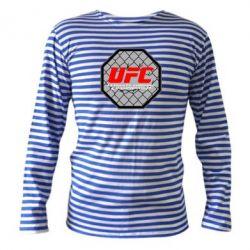 Тельняшка с длинным рукавом UFC Cage - FatLine