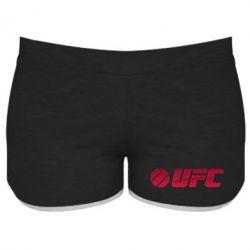 Женские шорты UFC Main Logo - FatLine