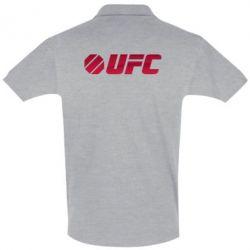 Футболка Поло UFC Main Logo - FatLine
