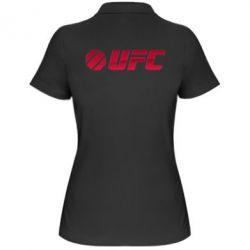Женская футболка поло UFC Main Logo - FatLine