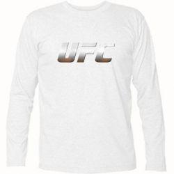 Футболка с длинным рукавом UFC Metal - FatLine