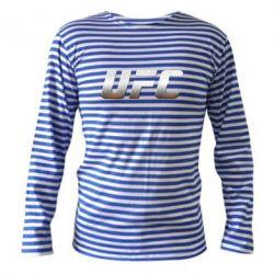 Тельняшка с длинным рукавом UFC Metal - FatLine