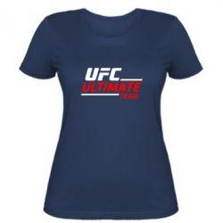 Женская футболка UFC Ultimate Team - FatLine