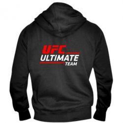 Мужская толстовка на молнии UFC Ultimate Team - FatLine