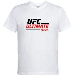 Мужская футболка  с V-образным вырезом UFC Ultimate Team - FatLine