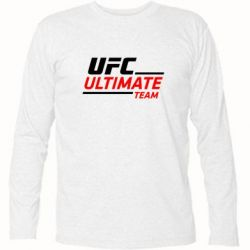 Футболка с длинным рукавом UFC Ultimate Team - FatLine