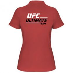 Женская футболка поло UFC Ultimate Team - FatLine