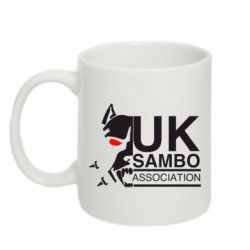 Кружка 320ml UK Sambo Association - FatLine