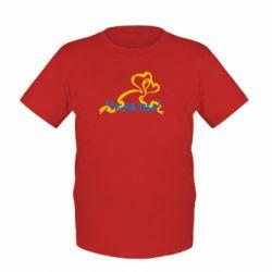 Детская футболка Україна у серці - FatLine