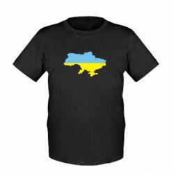 Детская футболка Украина - FatLine