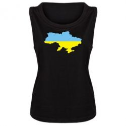 Женская майка Украина - FatLine