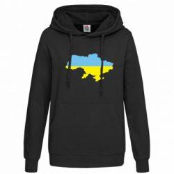 Женская толстовка Украина - FatLine