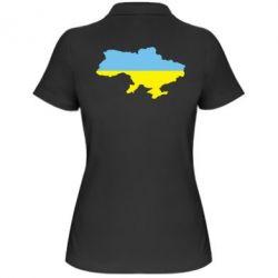 Женская футболка поло Украина - FatLine