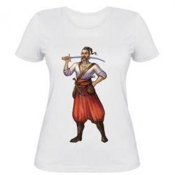 Женская футболка Ukraine Cossak