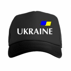 Кепка-тракер UKRAINE FLAG - FatLine