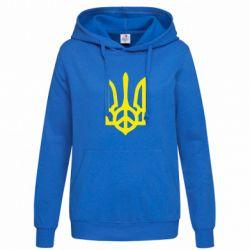 Женская толстовка Ukraine Peace - FatLine