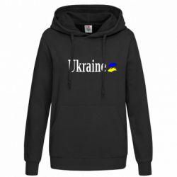 Женская толстовка Ukraine - FatLine