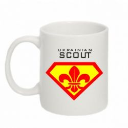 Кружка 320ml Ukrainian Scout - FatLine