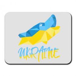 Коврик для мыши Ukrainian Wolf - FatLine