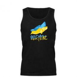 Мужская майка Ukrainian Wolf - FatLine