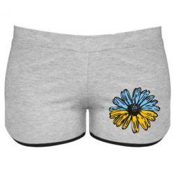 Женские шорты Українська квітка - FatLine