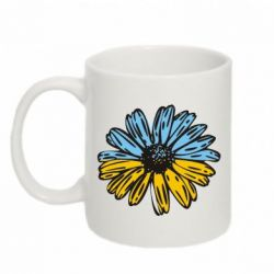 Кружка 320ml Українська квітка - FatLine