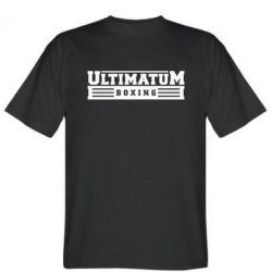 Мужская футболка Ultimatum Boxing - FatLine