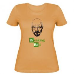 Женская футболка Уолтер Уайт (Во все тяжкие) - FatLine