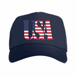 Кепка-тракер USA - FatLine