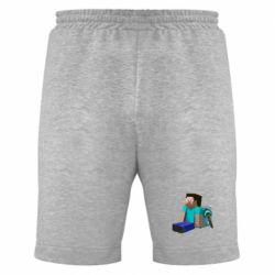 Мужские шорты Уставший Стив - FatLine