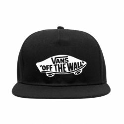 Снепбек Vans of the walll Logo - FatLine