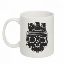 Кружка 320ml Vape Skull - FatLine