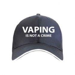 Кепка Vaping is not a crime - FatLine