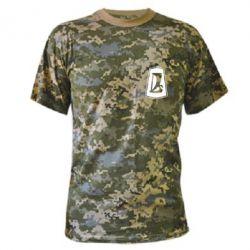 Камуфляжная футболка ВАЗ - FatLine