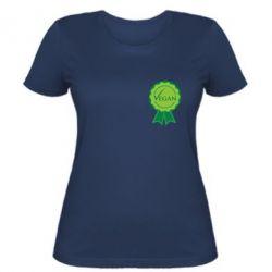 Женская футболка Vegan - FatLine