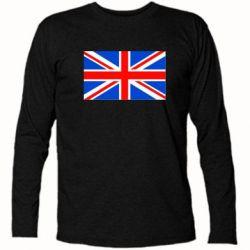 Футболка с длинным рукавом Великобритания - FatLine