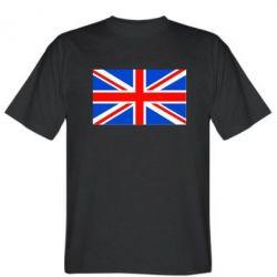 Мужская футболка Великобритания - FatLine