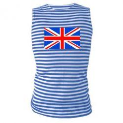 Майка-тельняшка Великобритания - FatLine