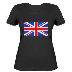 Женская футболка Великобритания - FatLine