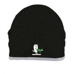 Шапка Вежливый кот - FatLine