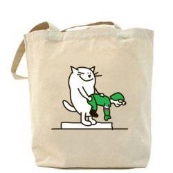 Сумка Вежливый кот - FatLine