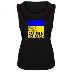 Женская майка Виготовлено в Україні - FatLine