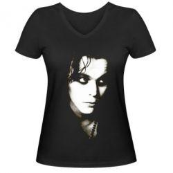 Женская футболка с V-образным вырезом Вилле Вало