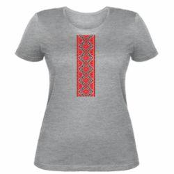Женская футболка Вишиванка - FatLine