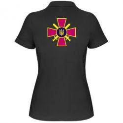 Женская футболка поло Військо України - FatLine